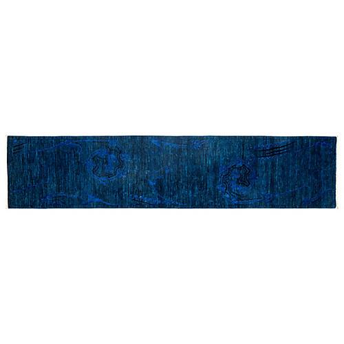 """2'5""""x10'9"""" Vibrance Runner, Dark Blue"""