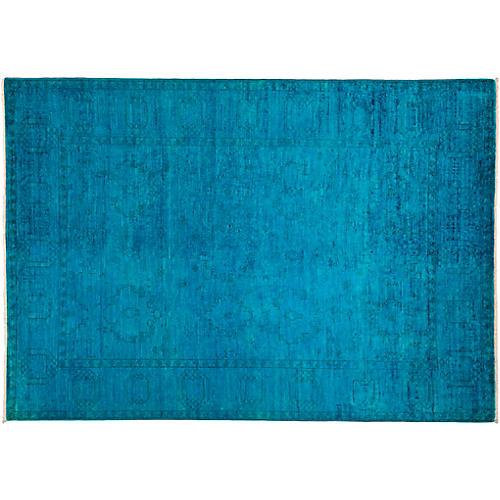 "6'2""x8'9"" Vibrance Rug, Multi/Blue"