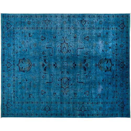 "11'9""x14'8"" Vibrance Rug, Blue/Navy"