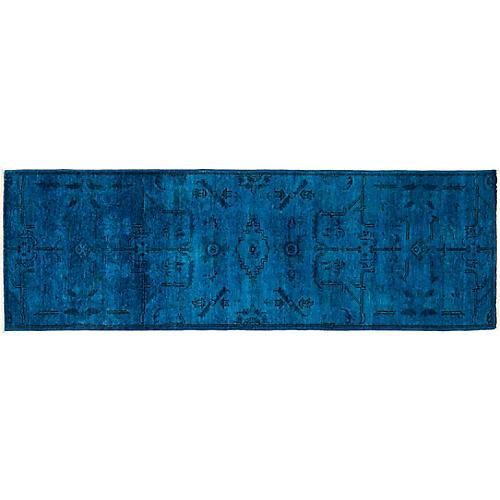 """2'7""""x7'9"""" Vibrance Runner, Blue/Multi"""