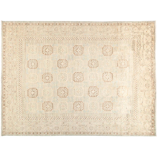 "8'10""x11'7"" Khotan Rug, Beige/Brown"