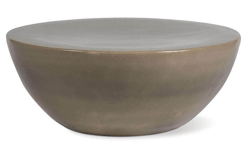 Bowness Outdoor Coffee Table, Taupe