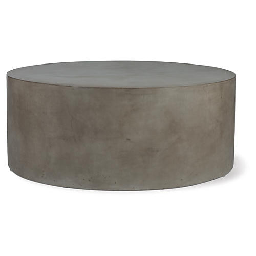 Grand Louie Concrete Coffee Table, Gray