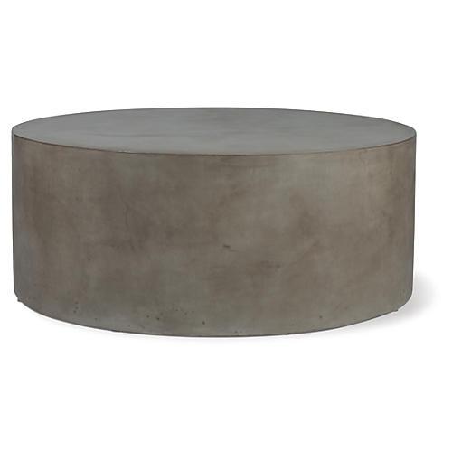 Grand Louie Concrete Coffee Table, Gray