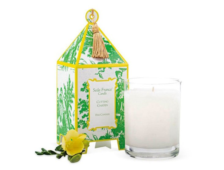 S/2 Pagoda Candles, Cutting Garden