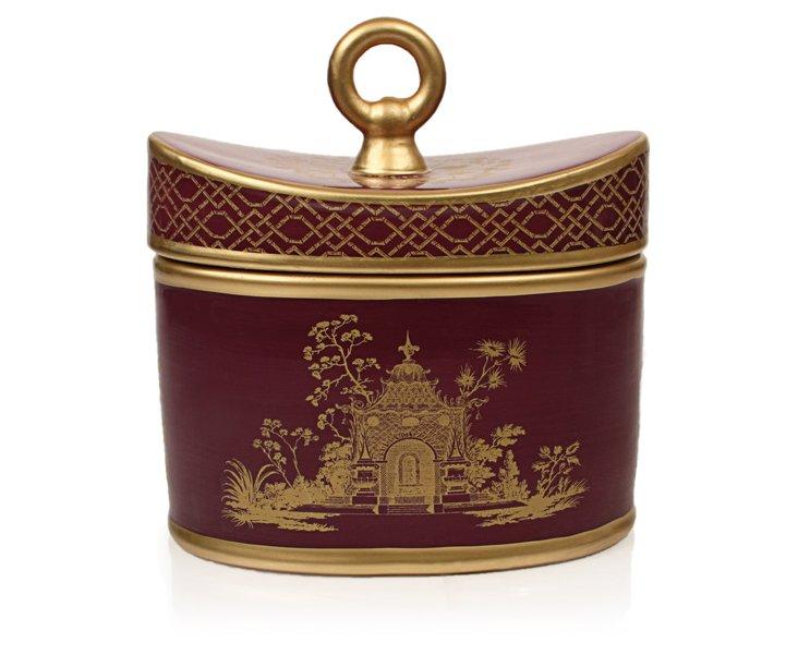20 oz Ceramic Candle, Currant Pourpre