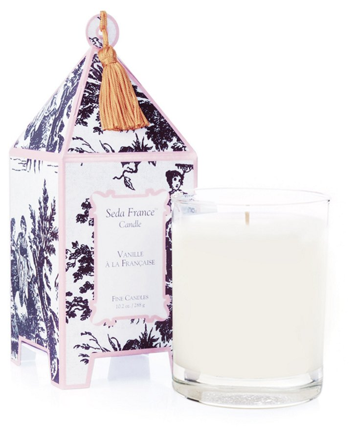 10 oz Pagoda Candle, Vanille Française