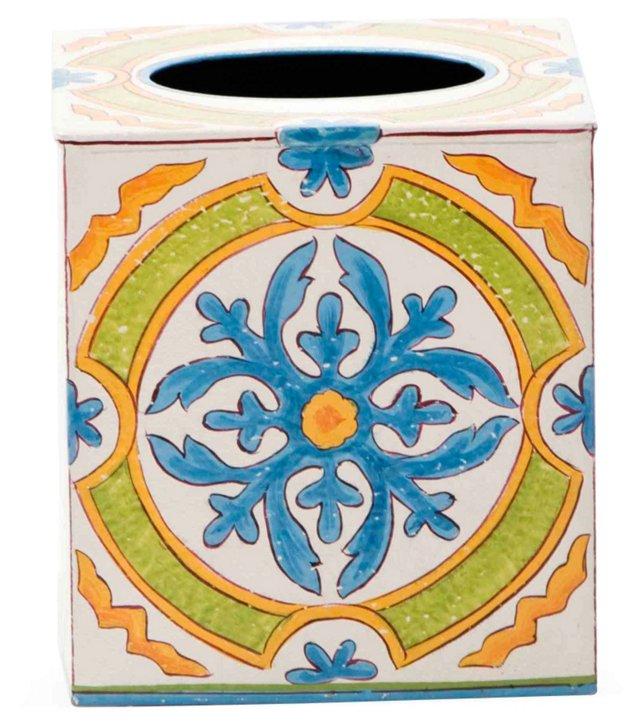 Tile Design Tissue Box