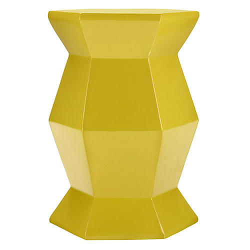 Mila Hexagonal Table, Lemon