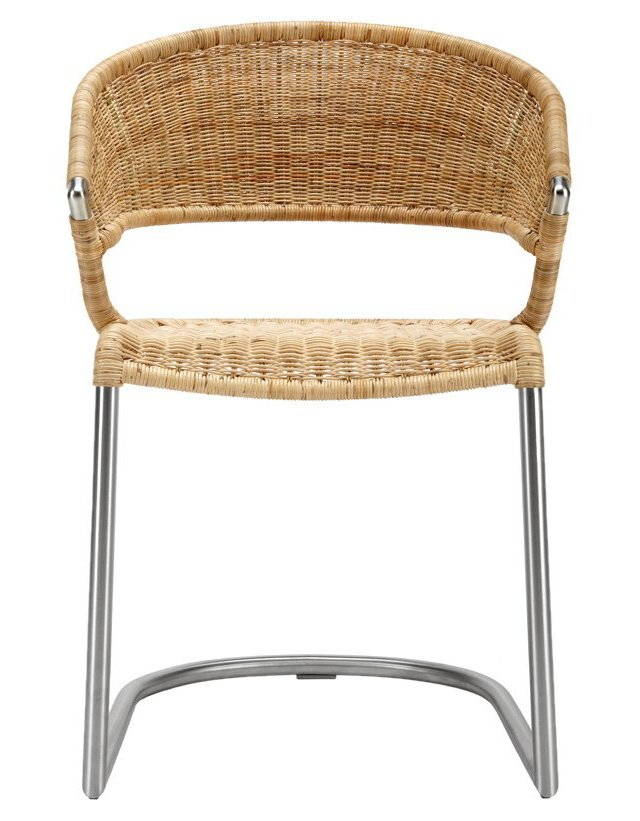 Rosalie Rattan Chair, Straw