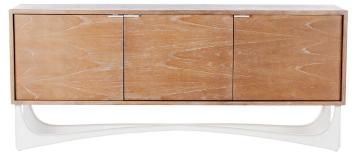 """Leticia 71"""" Sideboard, White"""