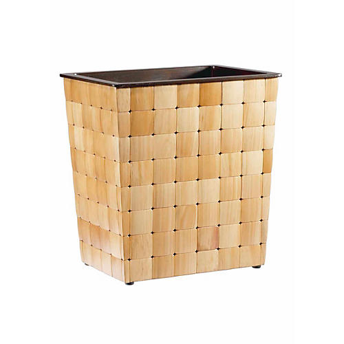Barclay Wastebasket, Natural
