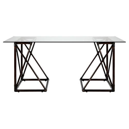 Vivienne Reversible Desk, Clove