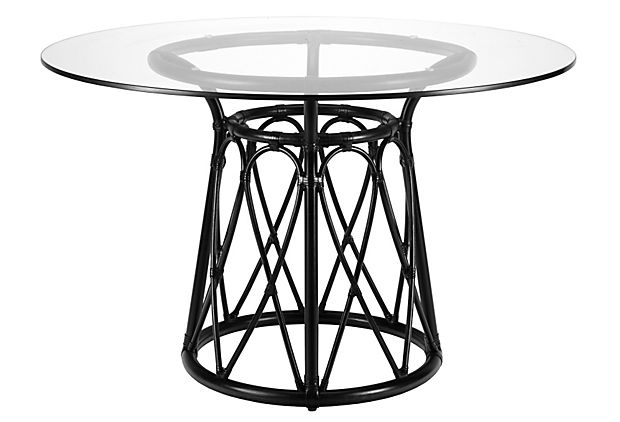 Sona Dining Table, Clove