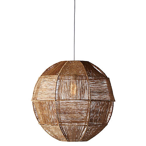 Highball 1-Light Pendant, Natural