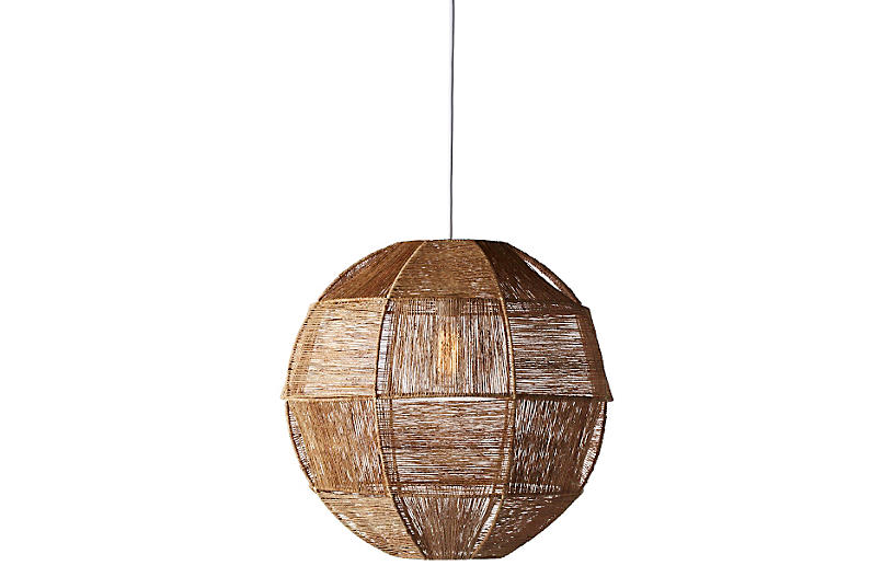 Highball 1-Light Pendant, Natural