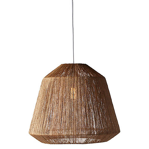 Manhattan Hanging Pendant, Dark Brown
