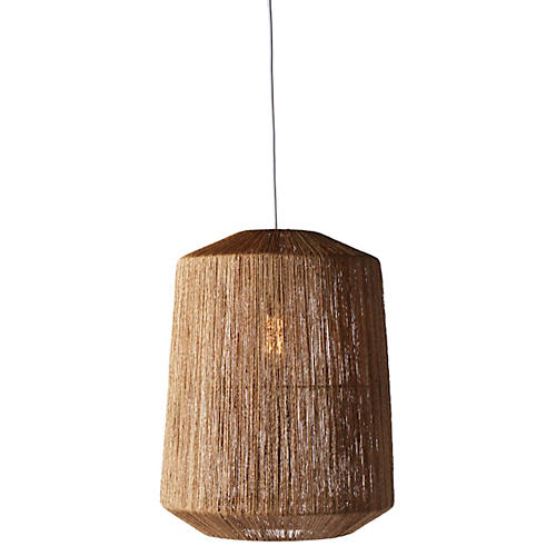Walker 1-Light Pendant, Natural