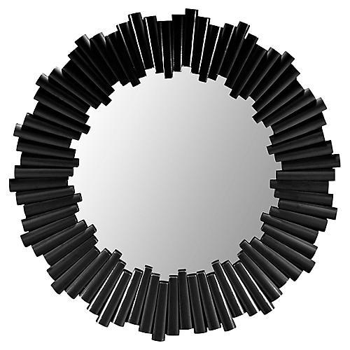 Dara Wall Mirror, Black