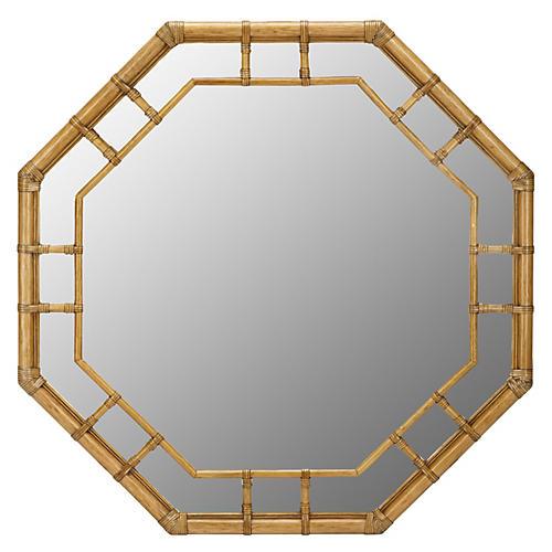 Ciaran Wall Mirror, Nutmeg