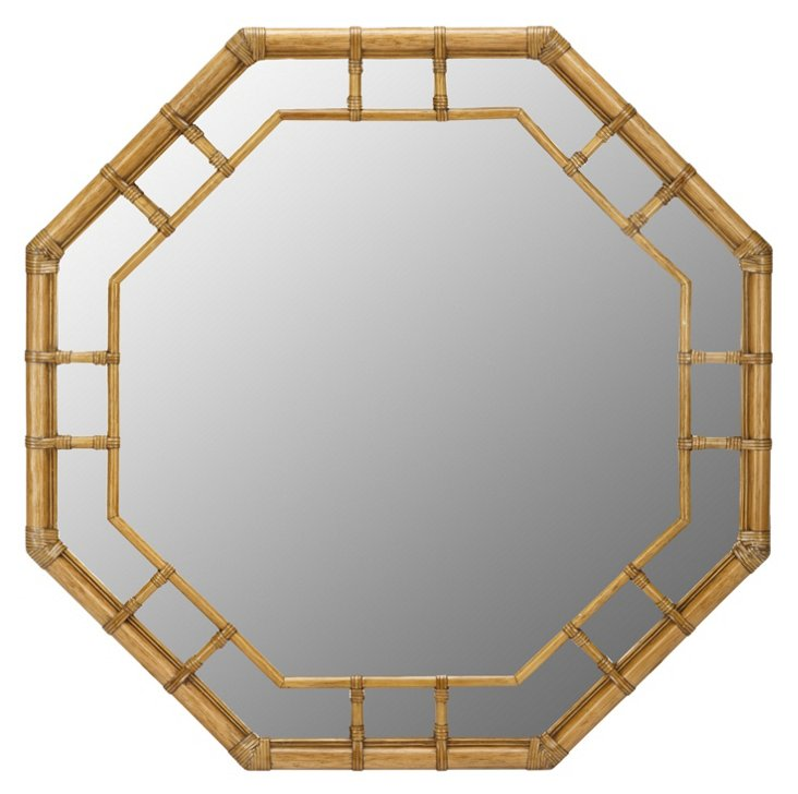 Ciaran Wall Mirror, Nutmeg