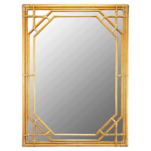 Ciaran Oversize Mirror, Nutmeg