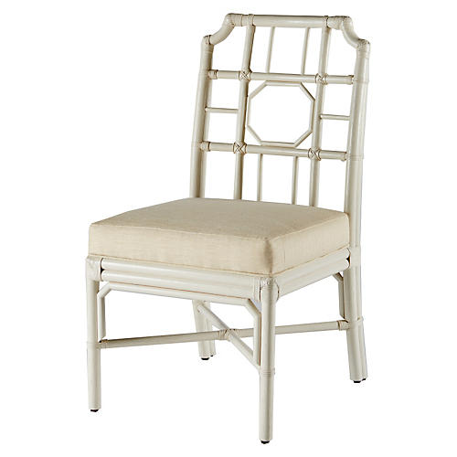 Regeant Side Chair, White