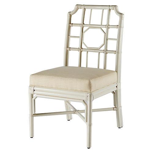 Regeant Side Chair, White