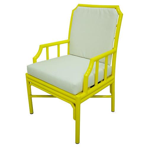 Milton 4-Season Armchair, Yellow