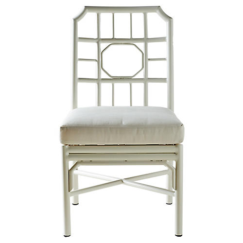 Regeant Outdoor Chair, White