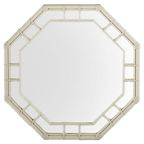 "Ciaran 36"" Wall Mirror, Beige"