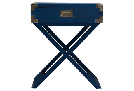 Kimber Nightstand, Navy