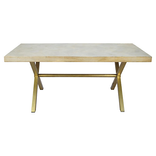 Justinian Dining Table, Natural