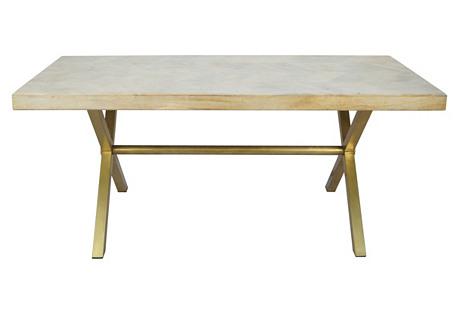 Justinian Dining Table, Natural
