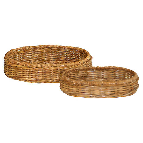 Asst. of 2 Healdsburg Nesting Trays