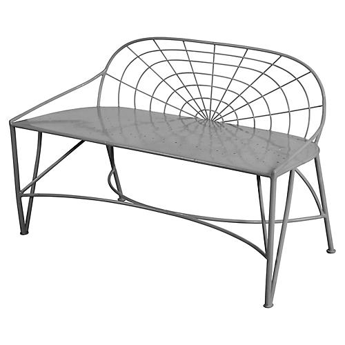 Mayfair Bench, Gray