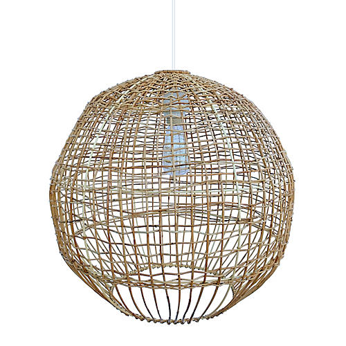 Wallbanger Large Pendant, Natural