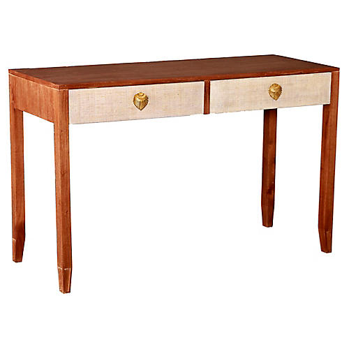 Shanghai Console, Natural/Ivory