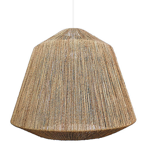 Manhattan Large Pendant, Natural