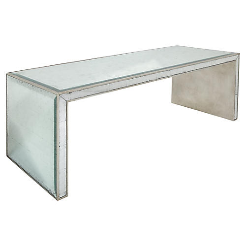 Stanford Coffee Table, Silver