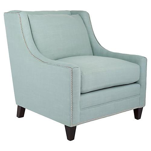 Marissa Club Chair, Seafoam
