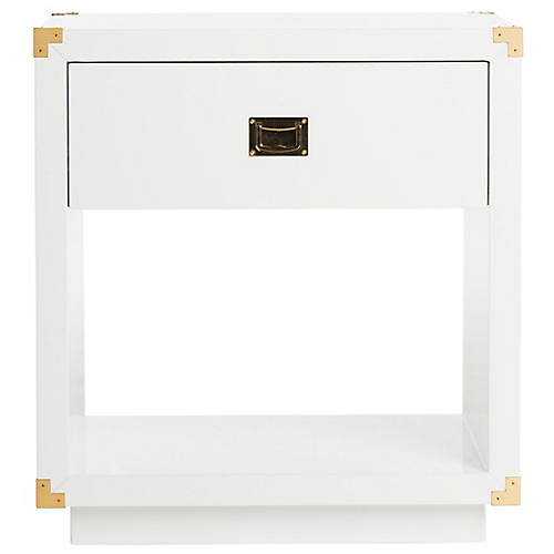 Lella Nightstand, White