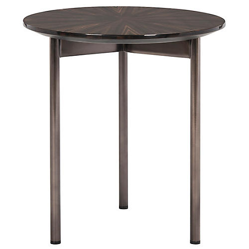 Ninibel Side Table, Espresso