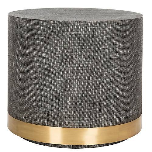 Nichol Side Table, Gray