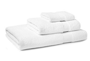 3-Pc Candido Towel Set, White