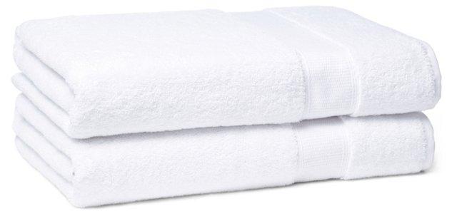 Candido Bath Towel, White