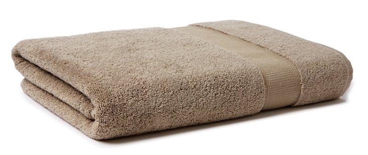 Candido Bath Towel, Taupe