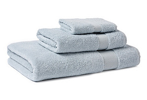 3-Pc Candido Towel Set, Ice Blue