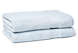 Candido Bath Towel, Ice Blue