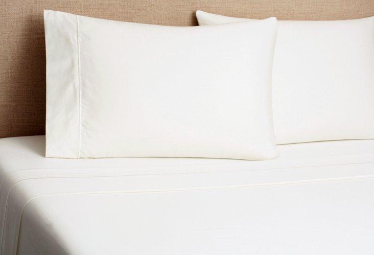 Regency Solid Sheet Set, Ivory